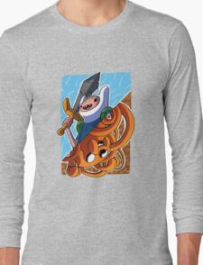 Adventure Time Jack and Finn Long Sleeve T-Shirt