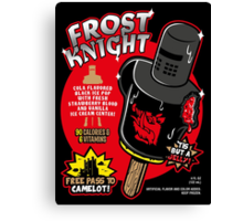 Frost Knight Ice Pop Canvas Print