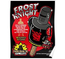 Frost Knight Ice Pop Poster