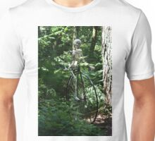 While in the woods Unisex T-Shirt
