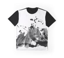 Abstract in black and white Graphic T-Shirt