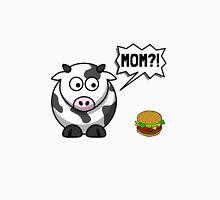 Cow Mom Hamburger Unisex T-Shirt