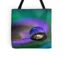 Peacock Waterdrop Tote Bag
