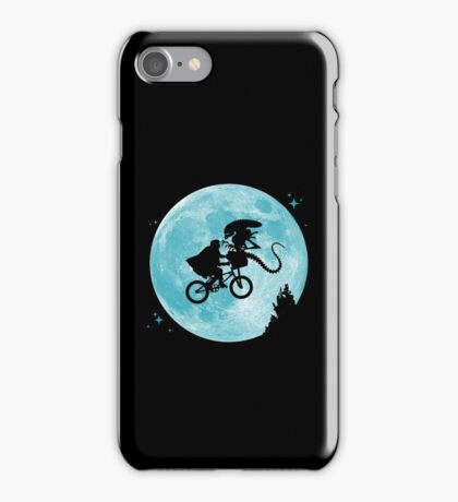 E.T. vs Aliens iPhone Case/Skin