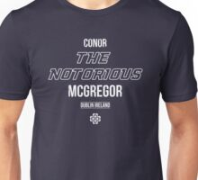The Notorious | White Unisex T-Shirt