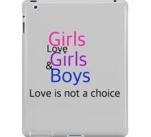 Girls/Girls/Boys iPad Case/Skin