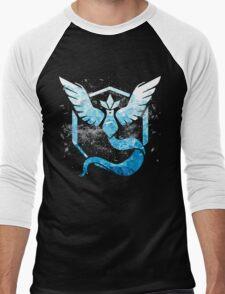 team mystic - pokemon go Men's Baseball ¾ T-Shirt