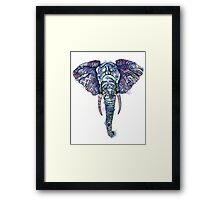 Safari Elephant Framed Print