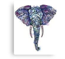 Safari Elephant Canvas Print