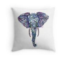 Safari Elephant Throw Pillow