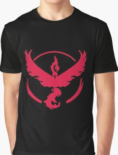 Pokemon GO: Team Valor (Red Clean) Graphic T-Shirt