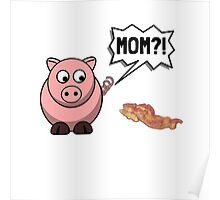 Pig Mom Poster