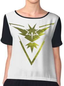 Team Instinct Pokemon Go Chiffon Top