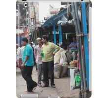 Street Scene Vegetable Markets Charminar iPad Case/Skin