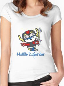 Hello Defender Women's Fitted Scoop T-Shirt