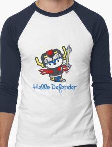Hello Defender Men's Baseball ¾ T-Shirt