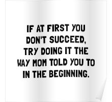 Succeed Mom Poster
