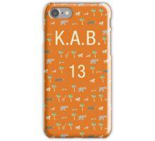Pattern KAB 13 Darjeeling Limited & Hotel Chevalier iPhone Case/Skin