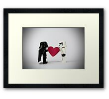 Lego LOVE Framed Print