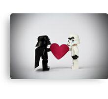 Lego LOVE Canvas Print
