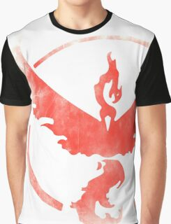 Team Valor grunge red Graphic T-Shirt