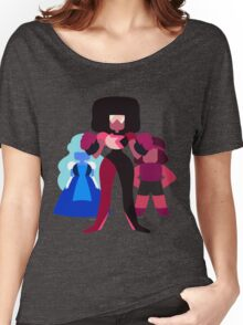 Minimalist Garnet Fusion Vector Women's Relaxed Fit T-Shirt