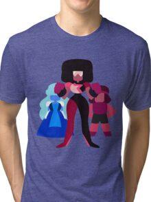 Minimalist Garnet Fusion Vector Tri-blend T-Shirt
