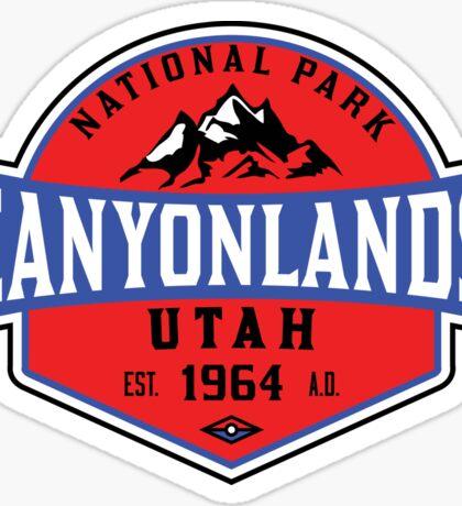CANYONLANDS NATIONAL PARK UTAH HIKING CAMPING 2 Sticker