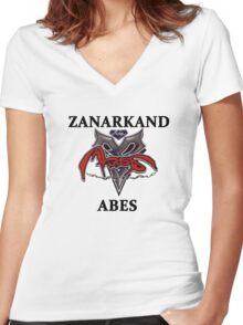 BlitzBall - Zanarkand Abes Women's Fitted V-Neck T-Shirt