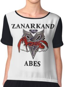 BlitzBall - Zanarkand Abes Chiffon Top