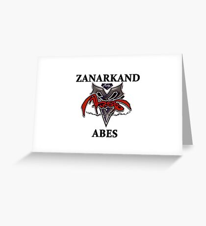 BlitzBall - Zanarkand Abes Greeting Card