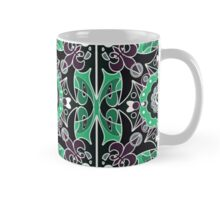 Seamless beautiful antique pattern ornament. Geometric background design, repeating texture. Mug
