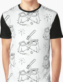 Apes Play with Boffers Graphic T-Shirt