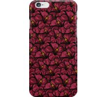 Electric Flower Pattern iPhone Case/Skin