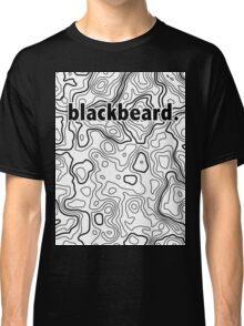 Topographic BlackBeard Classic T-Shirt