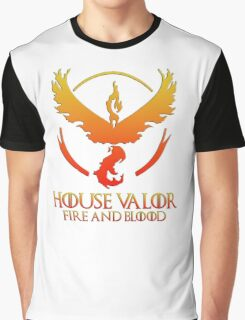 House Valor (GOT + Pokemon GO) Special vers. Graphic T-Shirt