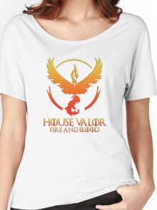 House Valor (GOT + Pokemon GO) Special vers. Women's Relaxed Fit T-Shirt