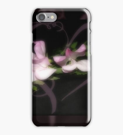 Sweetpeas iPhone Case/Skin