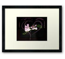 Sweetpeas Framed Print