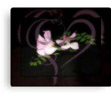 Sweetpeas Canvas Print