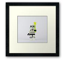 Star Trooper Fairy Framed Print