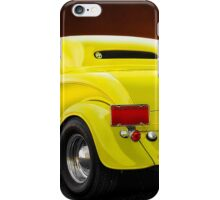 1934 Ford 'Chopped Top' Coupe 3Q Rear iPhone Case/Skin