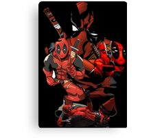 Deadpool Mash-up Canvas Print