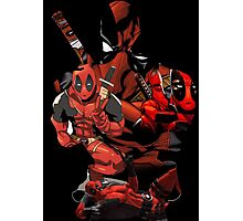 Deadpool Mash-up Photographic Print