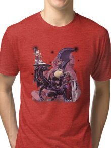 Yugi Muto with his monsters. Tri-blend T-Shirt