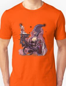 Yugi Muto with his monsters. Unisex T-Shirt