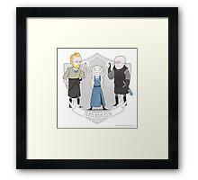 Team Khaleesi Framed Print