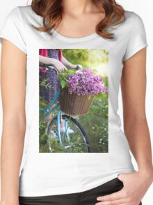 Gathering of the lilac Women's Fitted Scoop T-Shirt
