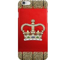 St. Edward's Crown - British Royal Crown  iPhone Case/Skin