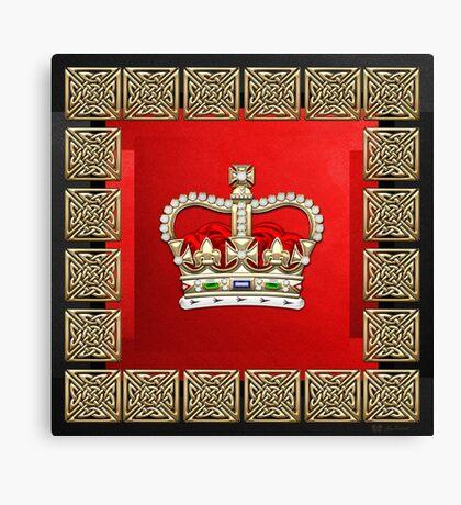St. Edward's Crown - British Royal Crown  Canvas Print